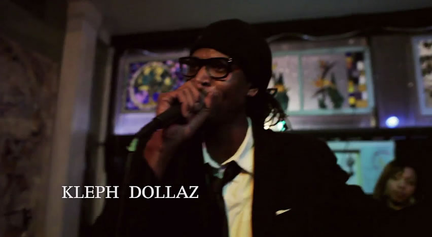"(Screenshot from ""Worship"" by Kleph Dollaz feat. Tamir Rock & Joey Gallo"