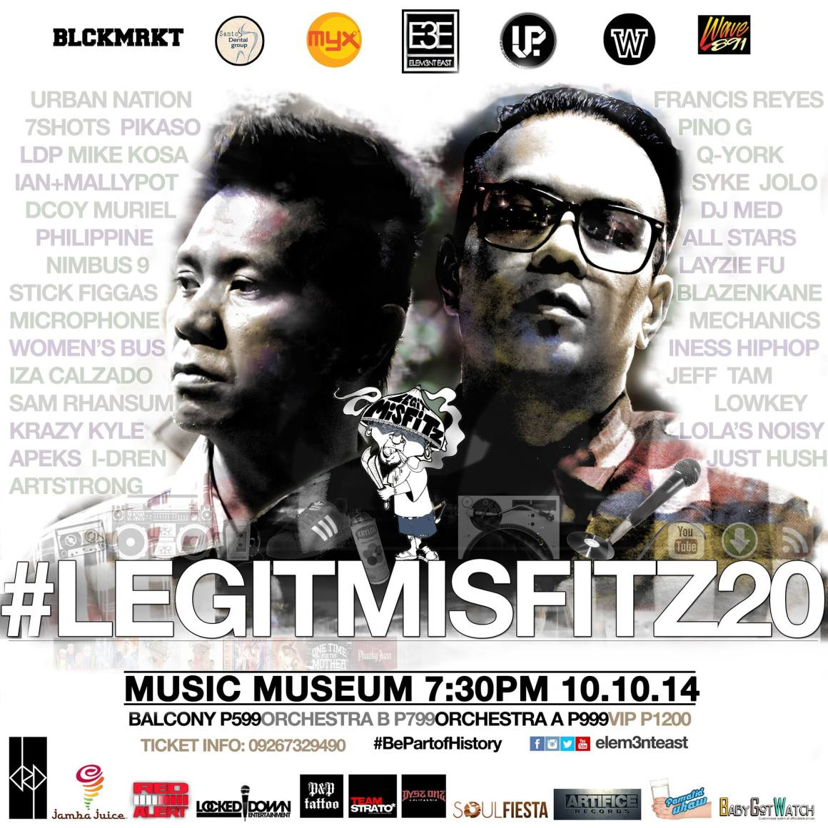 Legit Misfitz 20th