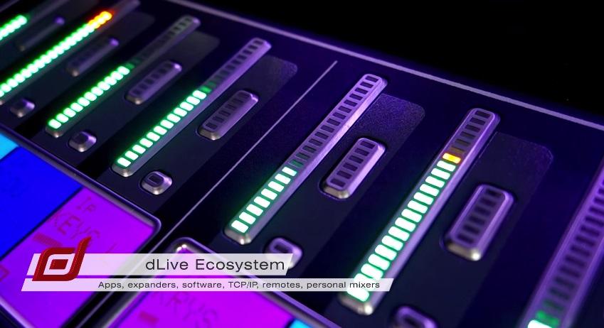 Allen & Heath - dLive DMS (Ecosystem)