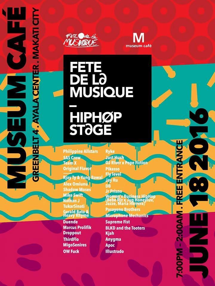 Fete Dela Musique (Hip-Hop Stage)